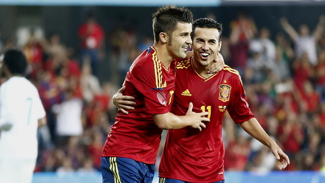  Pedro and Villa / PHOTO: CARMELO RUBIO (RFEF)