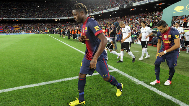 Alex Song / PHOTO: ARXIU FCB