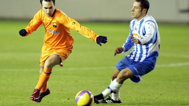 Las match against Alavs FOTO: ARXIU FCB.