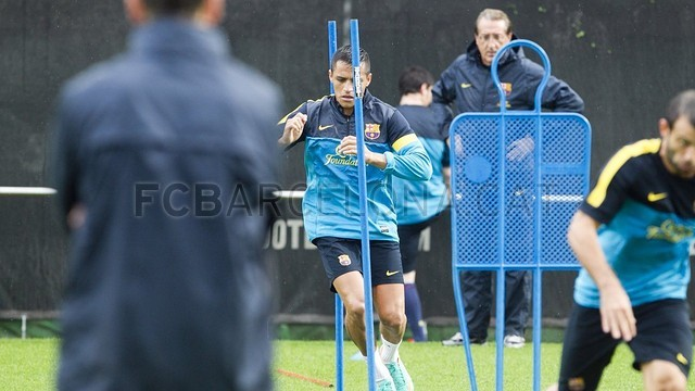 Training session 19/10/12 / PHOTO: MIGUEL RUIZ - FCB