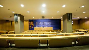 Vistas de la sala de prensa