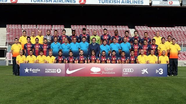 Foto oficial de la plantilla per a la temporada 2012-13 / FOTO: MIGUEL RUIZ - FCB