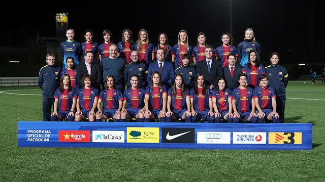 FC Barcelona Women's Football A 2012/13