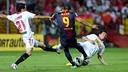 Alexis vs. Sevilla / PHOTO: MIGUEL RUIZ - FCB