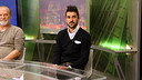 Villa on Bara TV's  'El Marcador' / PHOTO: MIGUEL RUIZ - FCB