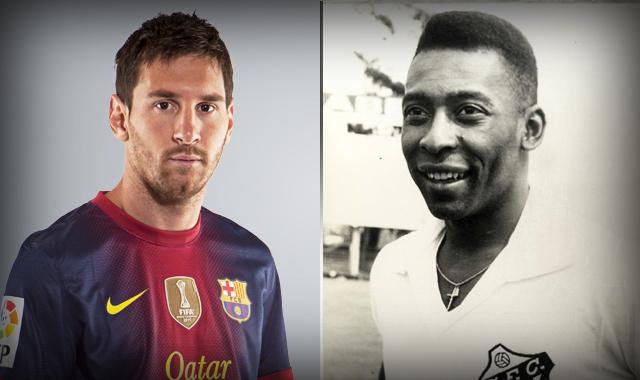 Messi i Pelé