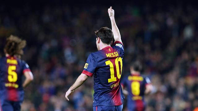 Messi FCB-Saragossa / FOTO: MIGUEL RUIZ - FCB