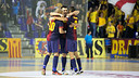 Bara Alusport defeats Inter Movistar at the Palau Blaugrana / PHOTO: GERMN PARGA - FCB