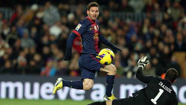 Messi vs Athletic Club / PHOTO: Miguel Ruiz - FCB