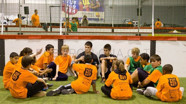 'FutbolNet' at Balaguer PHOTO:FC BARCELONA