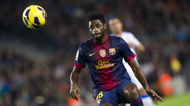 Alex Song. FOTO: LEX CAPARRS-FCB