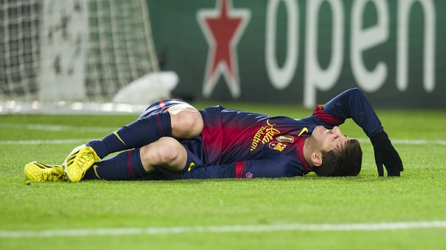 Leo Messi vs Benfica