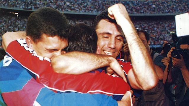 Stòitxkov in 1992/93 League PHOTO: ARXIU FCB.