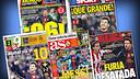 Recull de premsa sobre el rècord de gols de Messi
