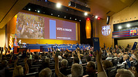keynote address voting act during the thirty-third supporters clubs world congress