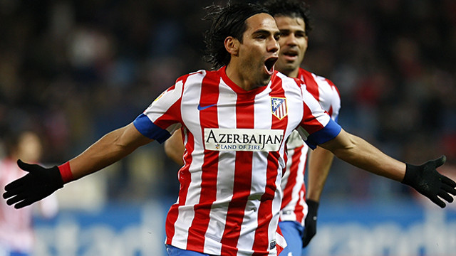 Radamel Falcao / PHOTO: ATLÉTICO MADRID