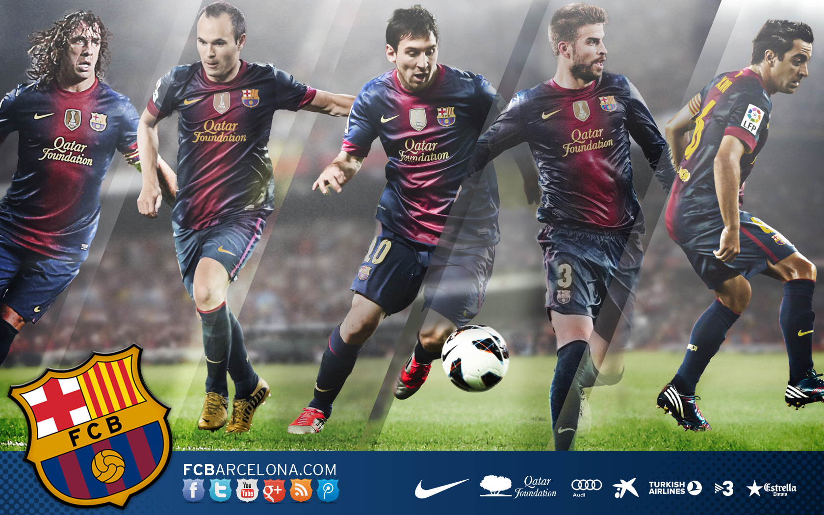 FC Barcelone Wallpaper Promotions