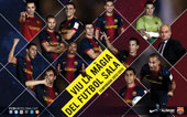PLANTILLA FCBARCELONA ALUSPORT 2012-13