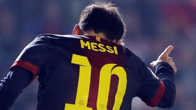 Messi vs Cordoba / PHOTO: Miguel Ruiz - FCB