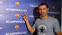 Mascherano, tercer protagonista de #CampNouLive / FOTO: MIGUEL RUIZ-FCB