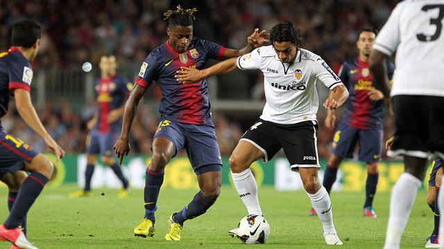 Hasil Liga Spanyol 1/2/2014: Barcelona vs Valencia, Skor Akhir 2-3