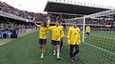 Imatge de l'entrenament de portes obertes de la temporada passada / FOTO: ARXIU FCB