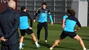 Morning training session 02-01-2013