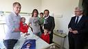 Visita als hospitals de Barcelona / FOTO: MIGUEL RUIZ - FCB