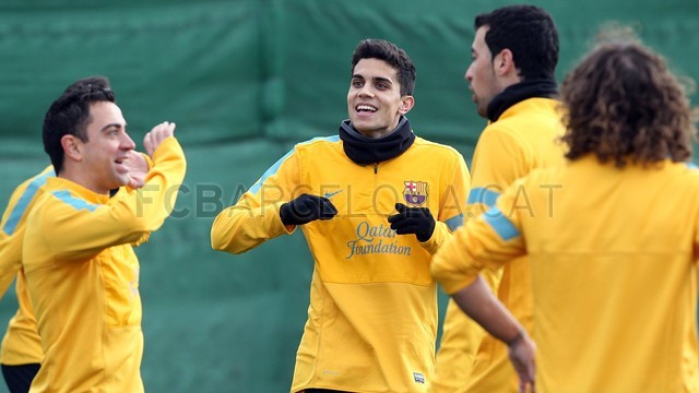 Training session 15/01/2013 / PHOTO: MIGUEL RUIZ - FCB