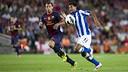 Mascherano vs Real Sociedad / PHOTO: Miguel Ruiz