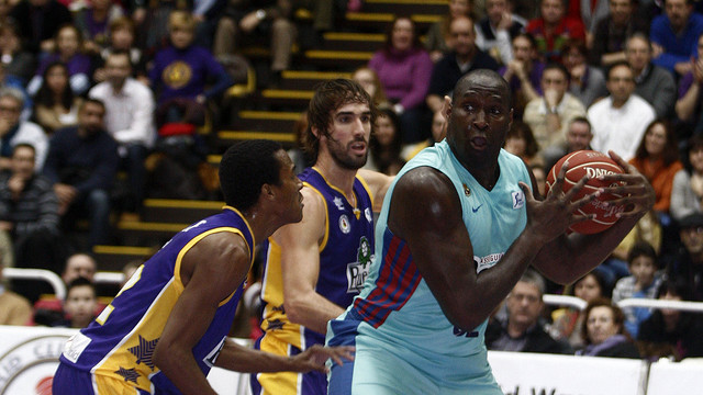 Jawai, durant el partit. FOTO: ACB PHOTO / C. Minguela