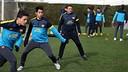 Barça's B training session 23/01/2013 / PHOTO: MIGUEL RUIZ - FCB