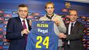 Creus, Oleson and Bladé. PHOTO: MIGUEL RUIZ-FCB.
