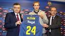 Oleson, presentat FOTO: MIGUEL RUIZ - FCB