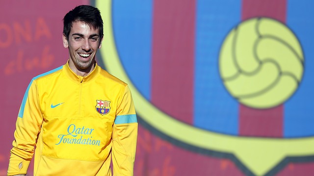 Isaac Cuenca. PHOTO: MIGUEL RUIZ-FCB.