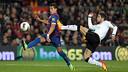 Jordi Alba playing against Barça last season / PHOTO: ARXIU FCB