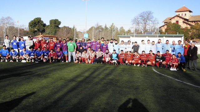 Participants in the tournament organized by the PB de Sant Cugat