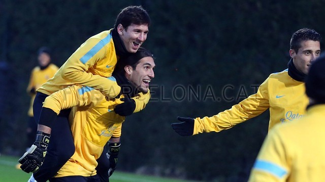 Training session 22/02/2013 | FC Barcelona