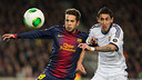 Alba and Di Mara in the cup clasico / FOTO: GERMN PARGA-FCB