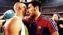 Ronaldo and Pep Guardiola / PHOTO: FCB