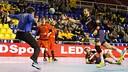 Noddesbo beats Rodríguez / PHOTO: GERMAN PARGA - FCB