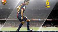 wallpaper featuring xavi hernandez