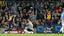 Alba vs Celta / PHOTO: FCB ARCHIVE