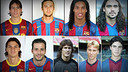 The 9 player that played for PSG and Barça.