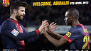 Welcome back, Abidal!