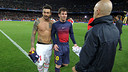 Leo Messi after the game with PSG / PHOTO: MIGUEL RUIZ – FCB