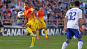 Thiago vs. Zaragoza / PHOTO: MIGUEL RUIZ - FCB