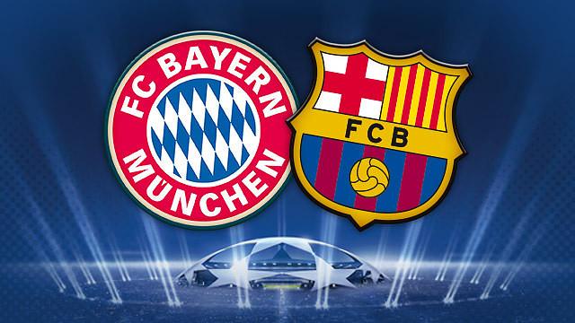 Fc Barcelona Vs. Bayern Munich