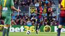 Abidal, titular contra el Llevant. FOTO: MIGUEL RUIZ-FCB.