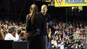 Piqué i Shakira, al Palau Blaugrana / FOTO: MIGUEL RUIZ-FCB